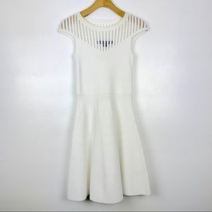 French Connection Rose Fit and Flare Dress